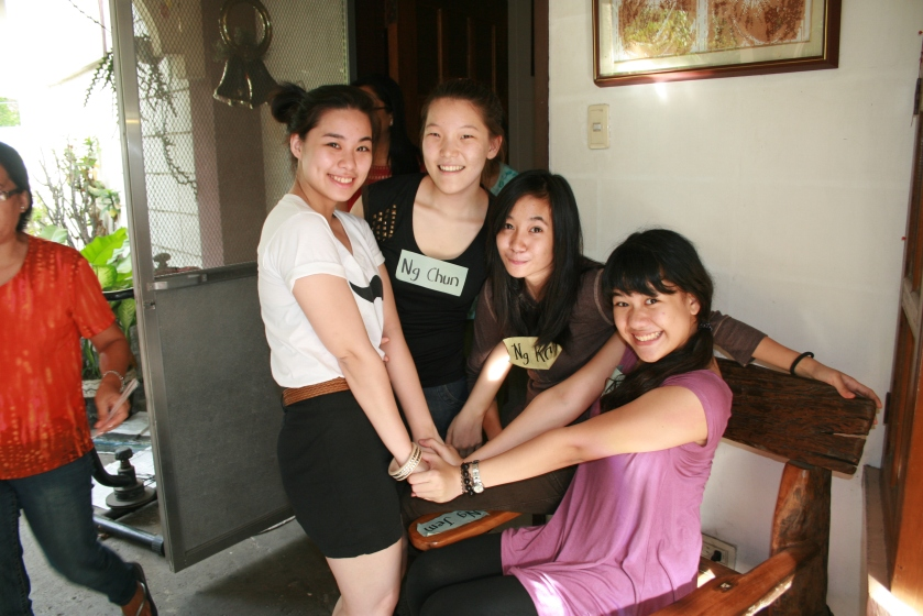 Me, Yeo Seul, Cassey and Angela reunited after a year (?)