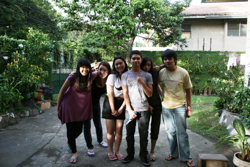 Angela, Yeo Seul, Me, Luke, Cassey and Teepee :)