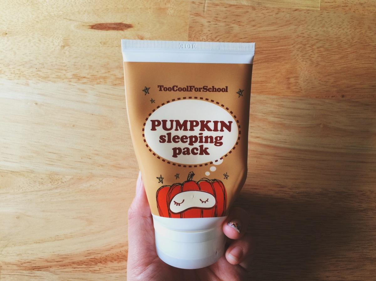 Stuff I Swear By: Too Cool for School Pumpkin SleepingMask