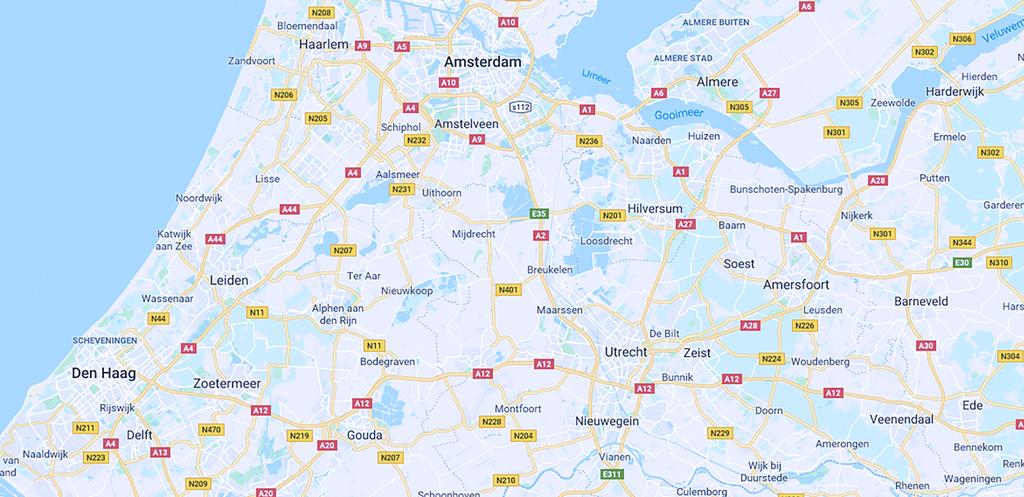 Delft, Den Haag, Leiden &Woerden